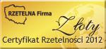 Rzetelna firma 2012