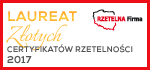 Laur złotych certyfikatów rzetelności 2017