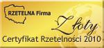 Rzetelna firma 2010