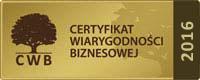 certyfikat 2016