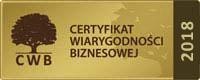 certyfikat 2018